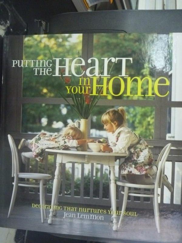 ~書寶 書T3/ _ZHY~Putting the Heart in Your Home_