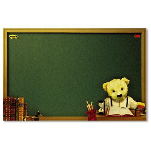 ~3M~ 558M~B熊熊可再貼備忘板250×180mm