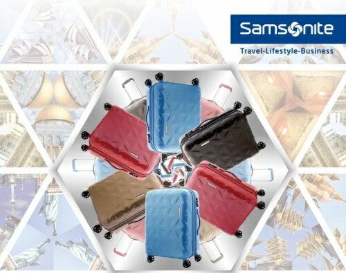 【加賀皮件】 Samsonite新秀麗 Tri-Go系列 四輪鏡面 100%聚碳酸酯 25吋行李箱 海關鎖拉桿旅行箱 多色可選【I17】