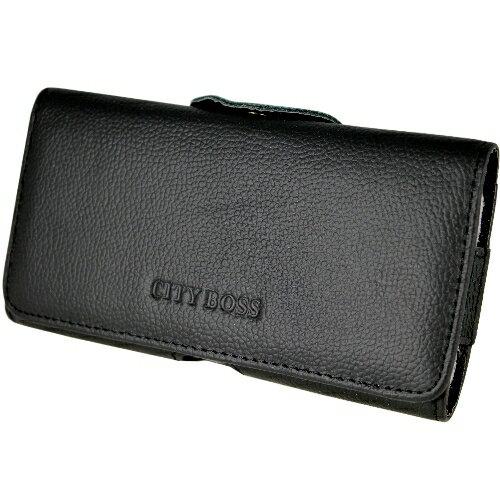 真皮系列 LG G4C 腰夾式/穿帶式 橫式手機皮套
