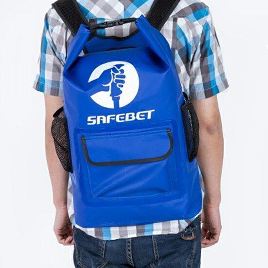 ♚MYCOLOR♚多功能防水密封後背款(45L)專業漂流袋大容量手提防偷袋戶外【P288】
