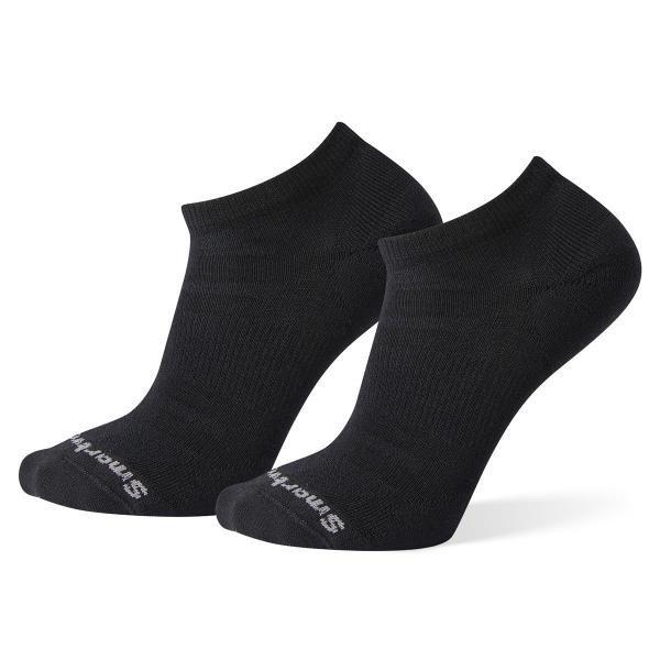 【【蘋果戶外】】Smartwool SW000683 001 黑【一組2雙】輕量菁英減震復古踝襪 避震墊低短筒跑步襪 羊毛襪 美國製造 美麗諾羊毛襪 保暖