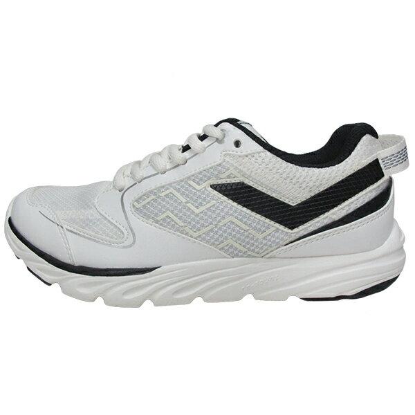 《限時特價799元》 Shoestw【63M1ST63OW】PONY 復古慢跑鞋 休閒鞋 白黑 男款 1