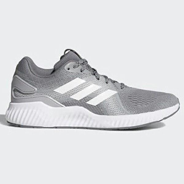 ADIDASAEROBOUNCESTW女鞋慢跑休閒輕量透氣灰白【運動世界】CG4682