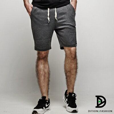 DITION 高回購美式OUTDOOR經典抽繩黑標棉褲短褲 1