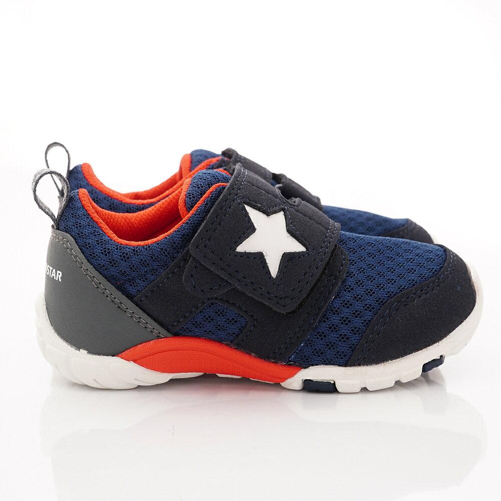 日本月星頂級童鞋 四大機能抗菌運動鞋款-MSC216635深藍(中小童段) 2
