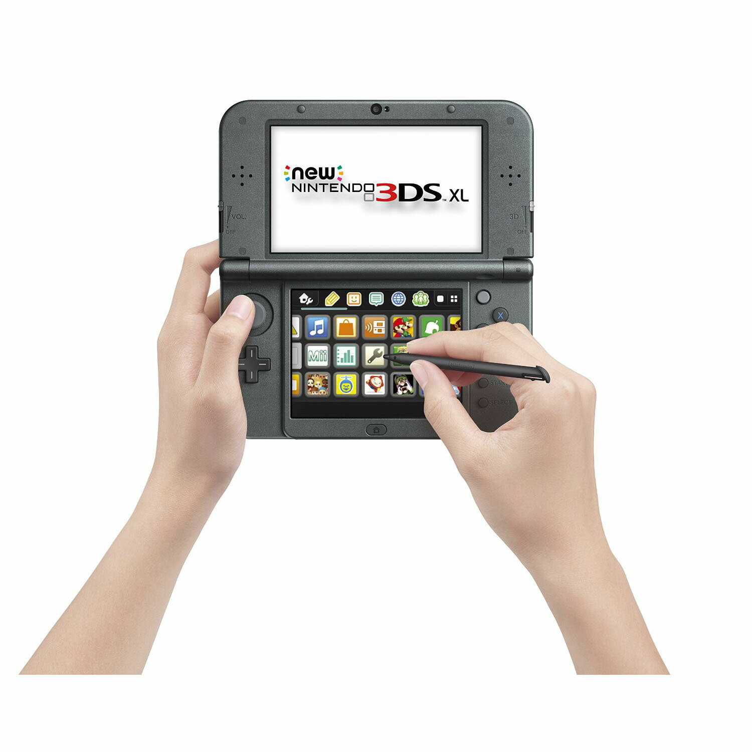 Nintendo New 3DS XL Handheld Video Game Console System - Black 2