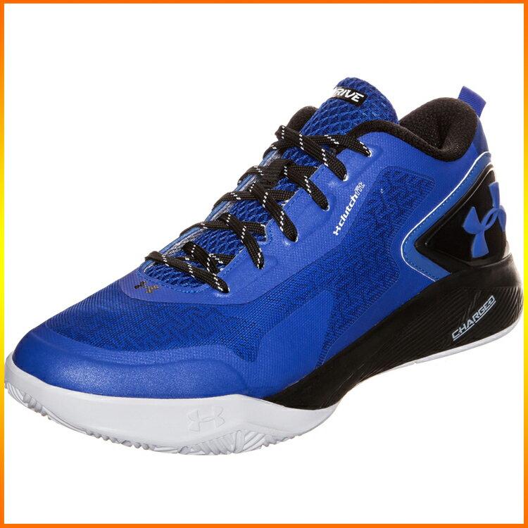 元禾)) UNDER ARMOUR 低筒籃球鞋 1264221-401 淺皇家藍/黑