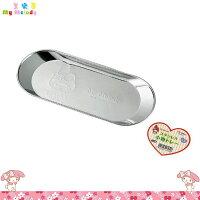 美樂蒂My Melody周邊商品推薦到日本製 美樂蒂 My Melody 不鏽鋼 置物盤小物盤 餅乾盤烘焙盤 小鐵盤 丸型 日本進口正版 171306
