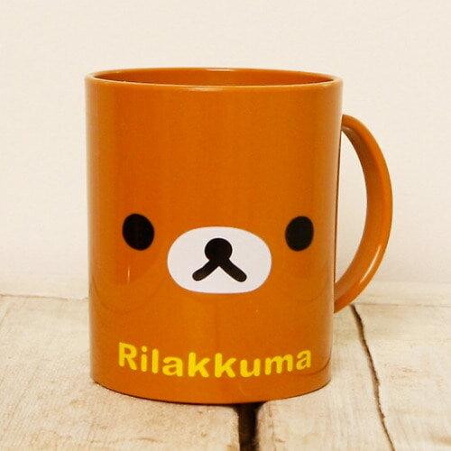 X射線【C067054】懶熊Rilakkuma 漱口杯,水杯 / 塑膠隨行杯 / 漱口杯 / 環保杯 / 塑膠杯 0