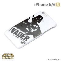 正版 Starwars iPhone 6/6s 星際大戰 金箔硬殼光明系列 - 黑武士