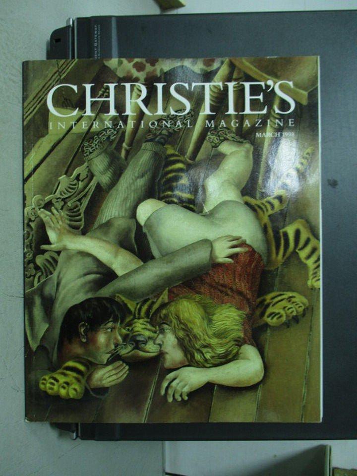【書寶二手書T4/收藏_ZHI】Christie's International Magazine_1998/3