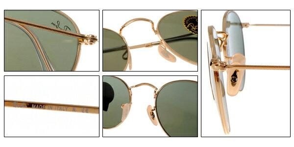 Ray Ban 雷朋 金邊綠鏡色 太陽眼鏡 RB3447 7