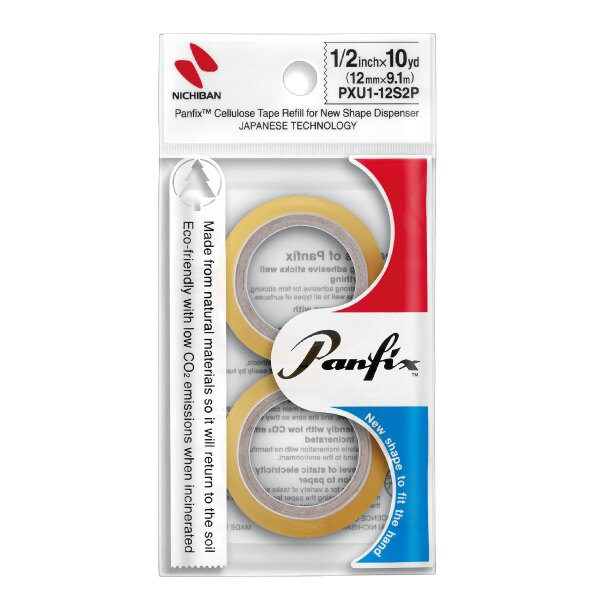 雄獅 日絆環保膠帶補充包 PXU1-12S2P