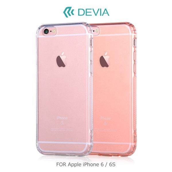 DEVIA Apple iPhone 6S  6S Plus 柔尚保護軟套 加強版   手
