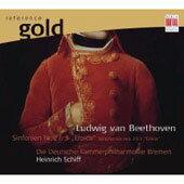 "EDEL/Berlin 海恩里希.席夫(Heinrich Schiff)/黃金典藏系列3 - 貝多芬:第二、三號交響曲[Beethoven: Symphonies nos. 2 & 3 ""Eroica.."