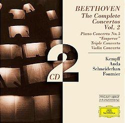 DG 原音再生系列-肯普夫、許奈德罕、傅尼葉、歐伊斯特拉夫/貝多芬:第五號鋼琴協奏曲etc.【2CDs】