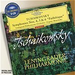 "DG穆拉汶斯基(EvgenyMravinsky)大花版系列-柴可夫斯基:交響曲第4、5、6號[Tchaikovsky:BalletSuites""SwanLake""、""TheSleepingBeauty""、""Nutcracker""]【2CDs】"