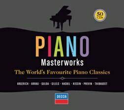 【小閔的古典音樂世界】DECCA 鋼琴的極致藝術(Piano Masterworks)套裝50片裝【50CDs】