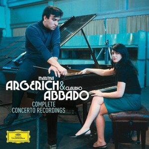 阿格麗希與阿巴多:DG鋼琴協奏曲錄音全輯^(Claudio Abbado   Martha