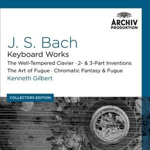 Archiv 肯尼‧吉伯特&平諾克/巴哈:鍵盤樂器作品(J.S. Bach : Keyboard Works 〔Collectors Edition〕)【10CDs】