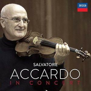 DECCA 阿卡多音樂會作品輯(Salvatore Accardo / In Concert)【6CDs】