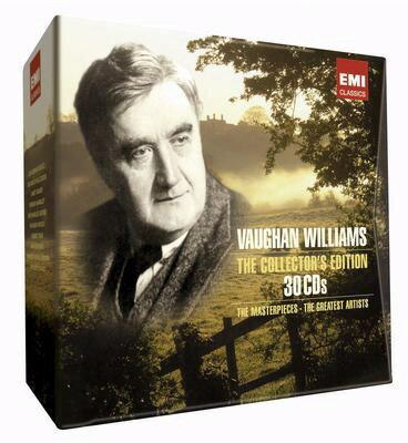 EMI 作曲家盒裝系列~佛漢威廉士作品大全集^(Ralph Vaughan William