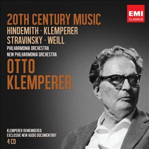 EMI 克倫培勒逝世40周年紀念限量套裝 十一:二十世紀當代作曲家作品集[Klemperer Legacy|Twentieth Century]【4CDs】