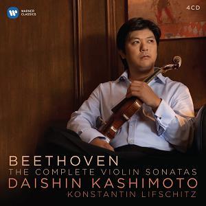 Warner ?本大進(Daishin Kashimoto)&列夫席茲(Konstantin Lifschitz) / 貝多芬︰小提琴奏鳴曲全集[Beethoven: The Complete Vio..