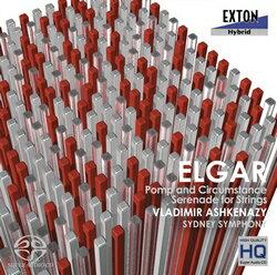 【小閔的古典音樂世界】EXTON阿胥肯納吉(VladimirAshkenazy)艾爾加:威風澟澟進行曲、弦樂小夜曲[Elgar:PompandCircumstanceMarch、SerenadeinforString]【1SACD】