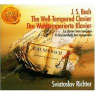 【小閔的古典音樂世界】SONYBMG 李希特(Sviatoslav Richter)/巴哈:平均律鋼琴曲全集(J.S.Bach:The Well-Tempered Clavier)【4CDs】