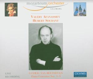 OEHMS 阿方納西夫(Valery Afanassiev)& Hubert Soudant/貝多芬:鋼琴協奏曲全集【4CDs】