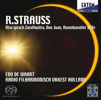 EXTON 狄瓦特(Edo De Waart)/理察史特勞斯:查拉圖斯特拉如是云、唐璜、「玫瑰騎士」組曲[R. Strauss: Also sprach Zarathustra, Don Juan, Der Rosenkavalier Suite]【1SACD】
