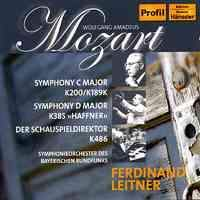 Profil萊特納(FerdinandLeitner)莫札特:交響曲第28、35號[Mozart:SymphonyNo.28、35]【1CD】