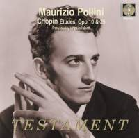 Testament 波里尼(Maurizio Pollini)/蕭邦:練習曲輯[Chopin: Etudes Op.10, Op.25]【1CD】