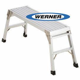 美國Werner穩耐安全鋁梯~AP~20 鋁合金工作平台 洗車台