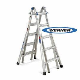美國Werner穩耐安全鋁梯~MT~22 鋁合金伸縮式多 梯 魔術梯 萬用梯