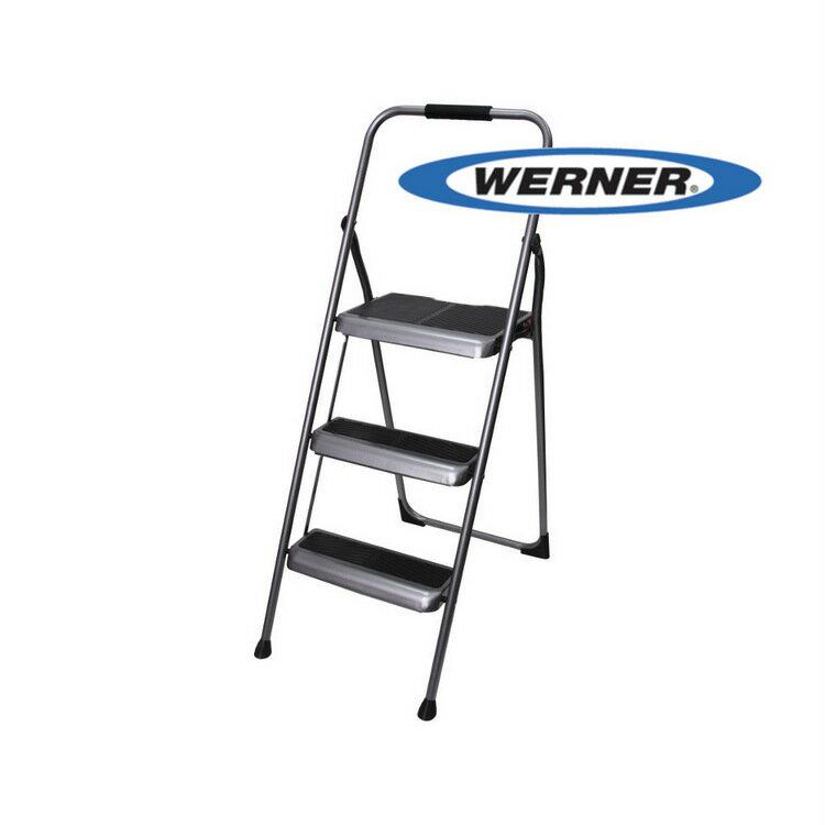 美國Werner穩耐安全梯-S323-6三階家用梯 梯子 A字梯