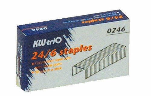 KW -tri o 3號 24/6 訂書針 #0246 / 盒