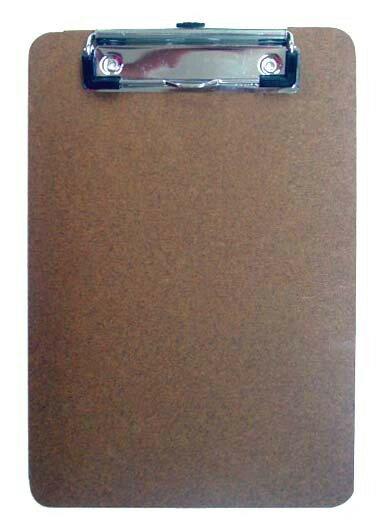 力大牌 ABEL 66166 A5原色板夾 / 個