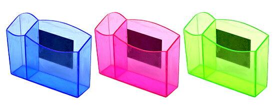 力大牌 ABEL 03506 微笑磁性筆筒(顏色隨機出貨) / 個