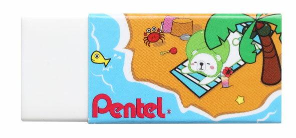飛龍 PENTEL   ZEH-05PTP  卡通塑膠擦(款式隨機出貨) / 個