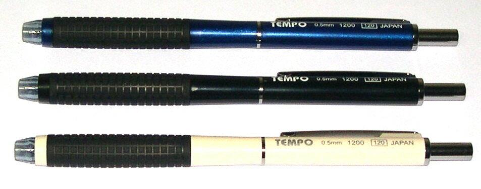 Tempo 節奏  日本進口  1200   二段式自動鉛筆(筆桿顏色隨機出貨)-30支入 / 桶
