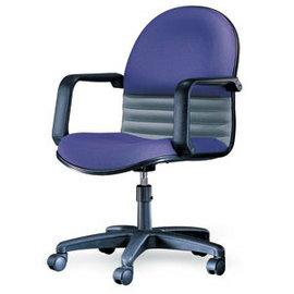 潔保 C-02-2G 氣壓式 高級防火布 透氣皮辦公椅-PP扶手 / 張