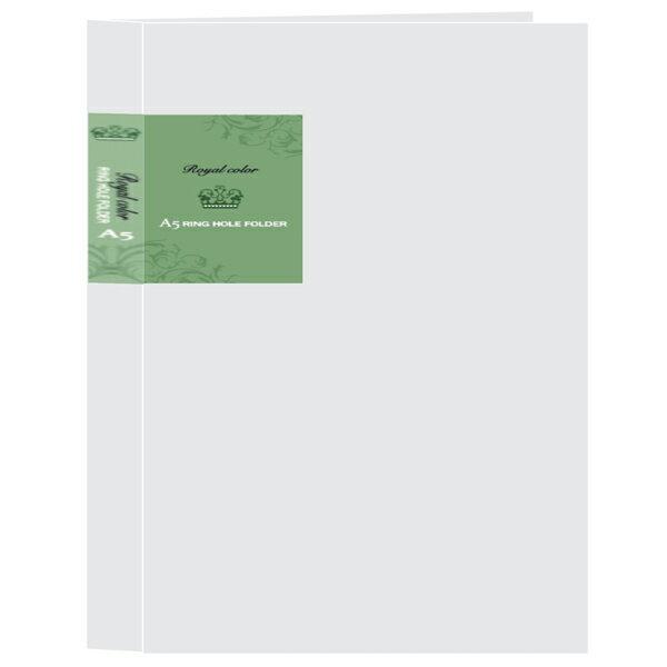 檔案家 OM~AB5BD09D 皇家B5 26孔塑鋼夾 金綠 ~12個入   打