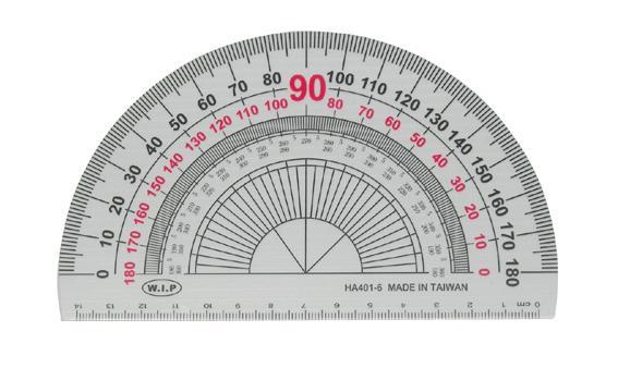 W.I.P   HA401-6   15公分量角器-180度   / 個