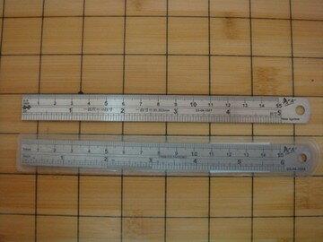 玉象   NO.401   15cm鋼尺 / 支
