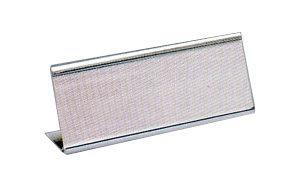 新潮指示標語系列  L型鋁合銀座(大) - 空白 TA-100S / 個