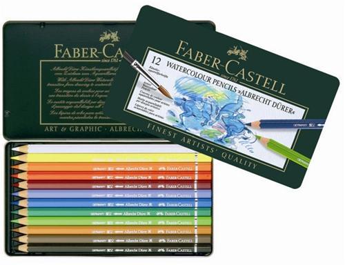 ~FABER~CASTELL~輝柏 117512 藝術家級水彩色鉛筆 ~ 12色