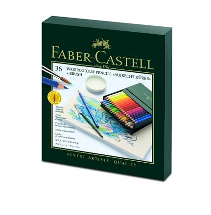 【FABER-CASTELL】輝柏117538藝術家級水彩色鉛筆-36色精裝版